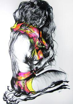 El arte de Paola Delfín