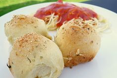 Meatball Bubble Biscuits: meatballs & cheese wrapped inside biscuit dough!