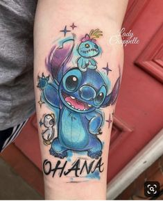 wearing his Toothless hoodie!Stitch wearing his Toothless hoodie! Bff Tattoos, Forarm Tattoos, Cartoon Tattoos, Future Tattoos, Love Tattoos, Beautiful Tattoos, Body Art Tattoos, Small Tattoos, Tattoos For Women