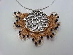 Needle Lace Necklace Boho Neck