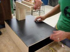 How to cut latex foam