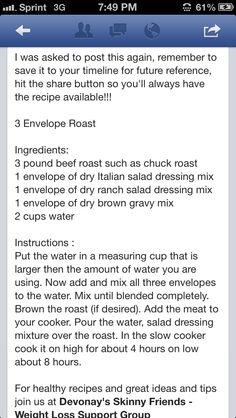 Pot Roast part 1