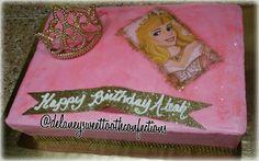 Sleeping Beauty Sheet Cake