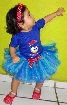 Gallina pintadita #bebe #tutu