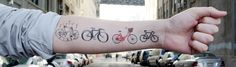 Temporary tatts - cute!  @Lori Bearden we need these for our team ride!