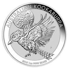 2018 Australian Swan BU 1 oz .999 Silver Round Coin in Capsule Perth Mint trump