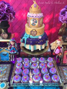 Kirsten Chloe's EVER AFTER HIGH birthday party | CatchMyParty.com