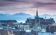 Lausanne, one of the world's most expensive cities