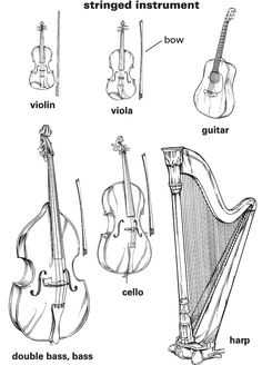 58 Musical Instruments And People Pencil Drawing Ideas - Art Music Activities, Music Games, Learner's Dictionary, Music Worksheets, English Language Learners, Music School, Primary Music, Cool Writing, Elementary Music