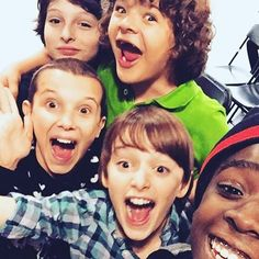 Finally 12! Now I can tell @therealcalebmclaughlin and @gatenm123 that i'm not so much younger than them anymore and to my bestie @milliebobby_brown and the amazingly talented @finnwolfhardofficial you guys are my crew