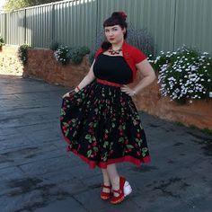 Pin up clothing dress