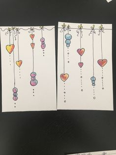 day cards watercolor love you Valentines Day Drawing, Valentine Day Cards, Cute Cards, Diy Cards, Karten Diy, Envelope Art, Happy Paintings, Watercolor Cards, Christmas Art