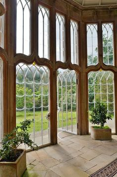 Gothic Camellia house interior, Culzean Castle (this is the interior of a GreenHouse.) I love the design and tall glass windows Architecture Details, Interior Architecture, Gothic Architecture, Exterior Design, Interior And Exterior, Interior Ideas, Future House, My House, Castle House