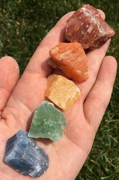 """""""Using healing crystals to experience life balanced, with positive energies, and spiritual wellness. Minerals And Gemstones, Crystals Minerals, Rocks And Minerals, Stones And Crystals, Crystal Magic, Crystal Healing, Wicca, Yellow Calcite, Crystal Aesthetic"""