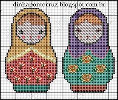 Matryoshka patterns by Dinha Ponto Cruz