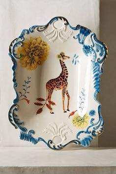 An Anthropologie exclusive by Lou Rota - Natural World Serving Tray - anthropologie.com