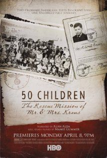 #40.  50 Children: The Rescue Mission of Mr. and Mrs. Kraus, May, 2013. In the spring of 1939, Gilbert and Eleanor Kraus embarked on a risky and unlikely mission. Traveling into the heart of Nazi Germany, they rescued 50 Jewish children from Vienna and brought them to the United States.