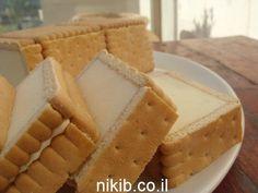 עוגת ביסקוויטים גבינה באינגליש קייק / צילום : ניקי ב