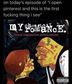 Mcr Memes, Music Memes, Band Memes, Funny Memes, Friend Memes, Album Songs, Funny Laugh, My Chemical Romance, Really Funny