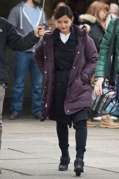 Doctor Who series 9: Osgood returns and Jenna Coleman is spotted filming in a shopping centre - Wales Online