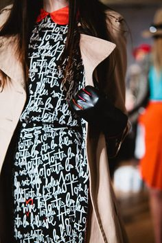 Gloves and patterns at Kate Spade - Fall 2012