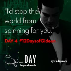 On the fourth day of Gideon my lover said to me…#12DaysofGideon