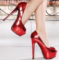 Every girl needs some red pumps!