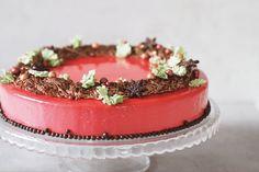 Julekage // Christmas CAKE  http://dittejulie.dk/2017/11/julekage-marcipan-aeble-tranebaer-christmas-cake/