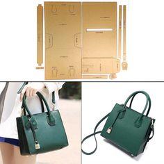 8* Leather Craft Acrylic Bag Wallet Corner Decoration Pattern Stencil TemplaODUS