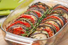 Auberginen-Tomaten-Auflauf mit Feta