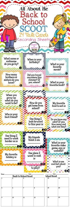 Get to know your kiddos with this fun, movement-based activity! Students can bec… Sponsored Sponsored Get to know your kiddos Back To School Night, 1st Day Of School, Beginning Of The School Year, School Fun, Middle School, School Ideas, Get To Know You Activities, First Day Of School Activities, 3rd Grade Classroom