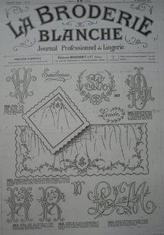 (1246) Gallery.ru / Фото #60 - La Broderie Blanche - bird-of-heart