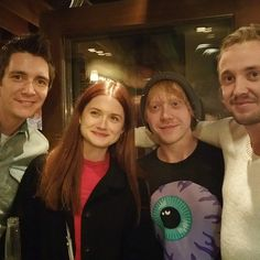 Pin for Later: The Harry Potter Stars Can't Stop Reuniting Here's a close-up of the reunion!