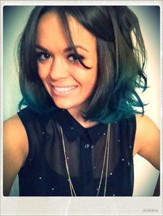 she's so cute- kinda makes me miss short hair
