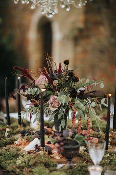 Secret Garden Wedding Inspiration From Stapleford Park
