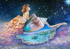 """Wishing on a Star (zoom)"" par Josephine Wall"
