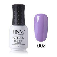 HNM 24 Colors Gel Polish Pink Purple Series Gel Nail Polish LED UV Gel Lak Long Last Gel Varnish Gelpolish Vernis Semi Permanent