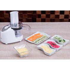 Shoptime Processador Compacto Fun Kitchen Branco com 2 anos de Garantia - R$89,90