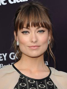 my hair is a lot like hers; especially the bangs and color