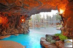 Cave Room with Swimming Pool and Waterfalls _ Drake's New Bachelor Pad In Hidden Hills, California -19.jpg
