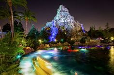 Disneyland HDR photos