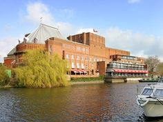The Royal Shakespeare Theatre ~ Stratford-upon-Avon, England. Another one of the things I really, really miss.
