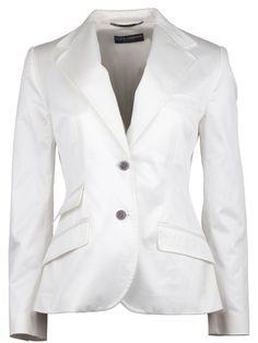 White blazer #DolceandGabbana  http://www.deruilhoekonline.nl/