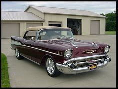 1957 Chevrolet Bel Air Convertible  410 CI, Automatic