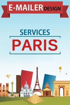 E-mailer Designing - Paris