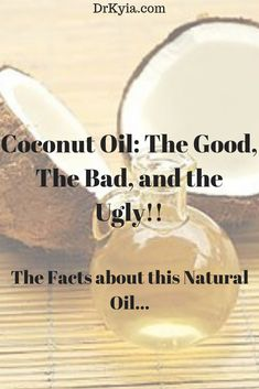 Oil: The Good, The Bad and The Ugly! Coconut oil benefits, healthy fats, natural healingHealthy food Healthy food describes food that is believed to contribute to personal or public health. In descending order of generality it may refer to: Coconut Oil Moisturizer, Coconut Oil Lotion, Coconut Oil For Acne, Coconut Oil Uses, Coconut Oil Health Benefits, Benefits Of Organic Food, Oil Benefits, Coconut Oil Weight Loss, Natural Remedies For Arthritis