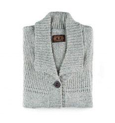 Es ideal en los días de fríos para llevar por encima de un suéter o camiseta, - En los días donde el frío de un poco de tregua, no será necesario llevar chaquetón, lucirá por si sóla, Sweaters, Fashion, Informal Attire, Knit Cardigan, Silhouettes, Wraps, Jackets, T Shirts, Dots