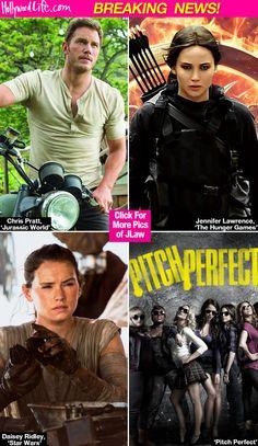 Kids' Choice Awards 2016 Nominations — Jennifer Lawrence &More