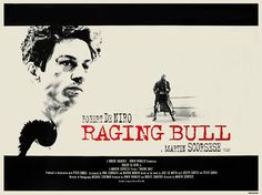 Raging Bull Vintage Movie Print.