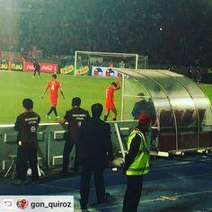 #Repost: @gon_quiroz via  Una noche de MARAVILLA #Alexis #Chile queda 4to rumbo a #Rusia  #CooperativaEsChile